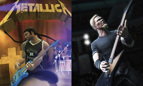 Metallica Guitar Hero