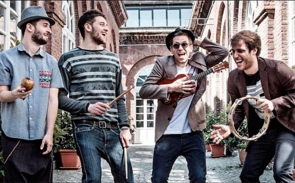 Eugenio in Via Di Gioia in concerto al Quirinetta con 'Tutti su per terra'