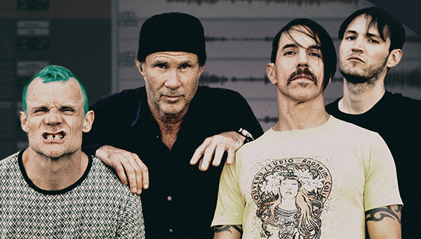 I Red Hot Chili Peppers in Italia per un'unica data