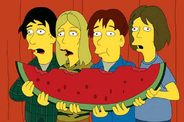 Sonic-Youth-Simpsons