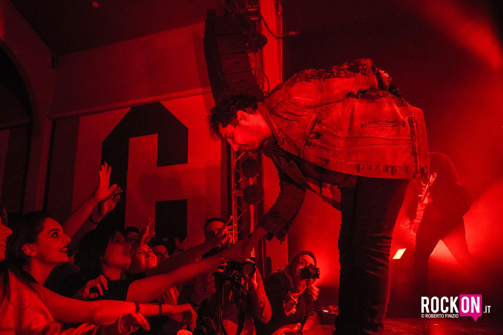 You Me At Six @ Santeria Social Club Milan Italy IT 1 febbraio 2019 ph Roberto Finizio -55