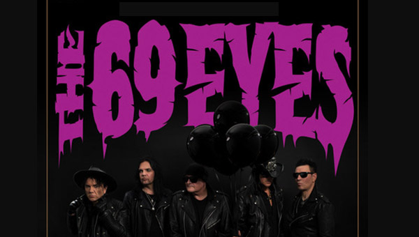 30 Anni Di THE 69 EYES In Concerto Il 16 Novembre A Parma
