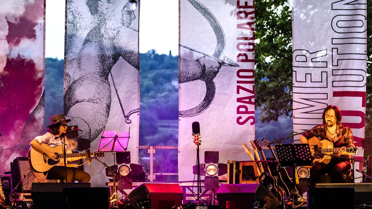 Cristiano Godano in concerto allo Spazio Polaresco di Bergamo foto di Andrea Ripamonti
