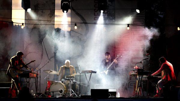 Calibro 35 in concerto allo Spazio Polaresco di Bergamo foto di Andrea Ripamonti per www.rockon.it