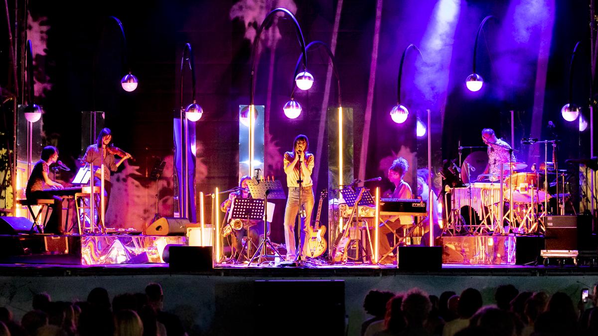 Francesco Bianconi in concerto al Bergamo1000 di Bergamo foto di Andrea Ripamonti per www.rockon.it